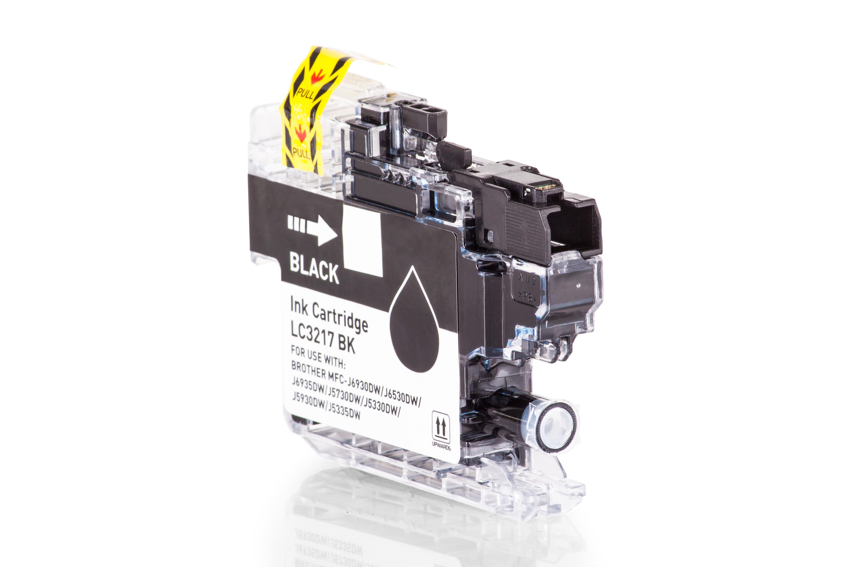 Brother LC3217BK Tintenpatrone schwarz Kompatibel