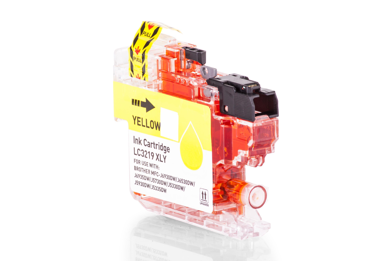 Brother LC3219XLY Tintenpatrone gelb Kompatibel