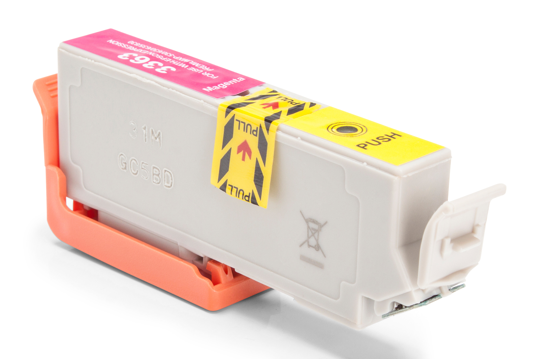 Epson C13T33634010 / 33XL Tintenpatrone magenta Kompatibel