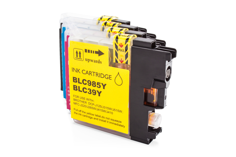 LC-985 XL Value Pack kompatibel BK CMY