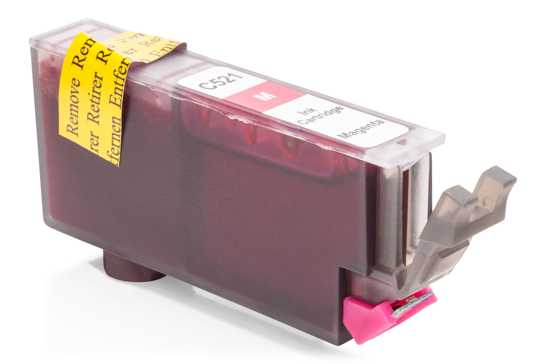 Kompatibel zu Canon CLI-521M Tintenpatrone magenta mit Chip