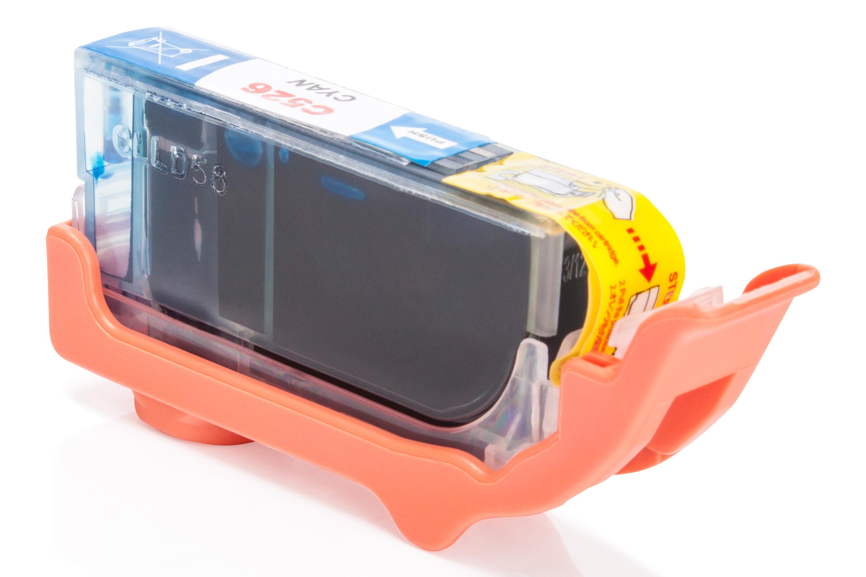 Kompatibel zu Canon 4541B001 / CLI-526C Tintenpatrone cyan mit Chip