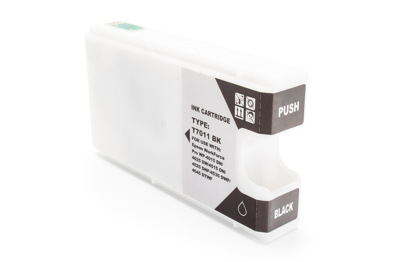 Kompatibel zu Epson C13T70114010 / T7011 Tintenpatrone schwarz