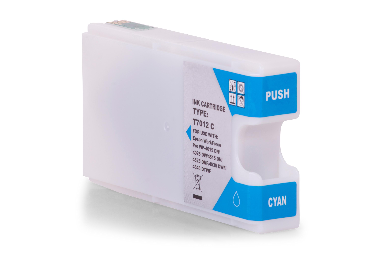 Kompatibel zu Epson C13T70124010 / T7012 Tintenpatrone cyan