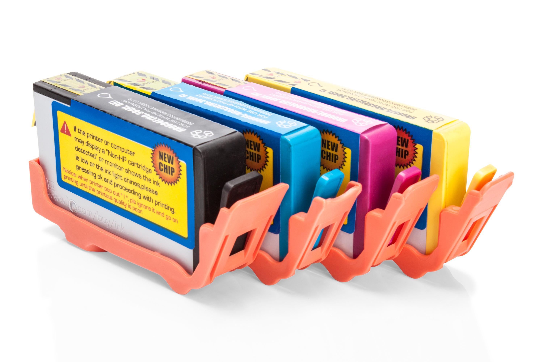 Alternativ zu HP Nr. 364 XL Tinten Spar-Set Schwarz, Cyan, Magenta, Gelb