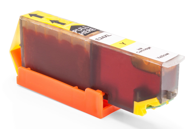 TonerPartenaire Epson C 13 T 24344010 / 24XL Cartouche d'encre jaune