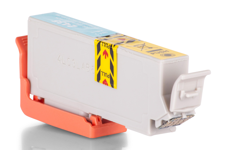 TonerPartenaire Epson C 13 T 24354010 / 24XL Cartouche d'encre cyan claire