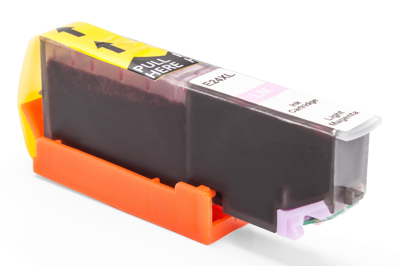 TonerPartenaire Epson C 13 T 24364010 / 24XL Cartouche d'encre magenta claire