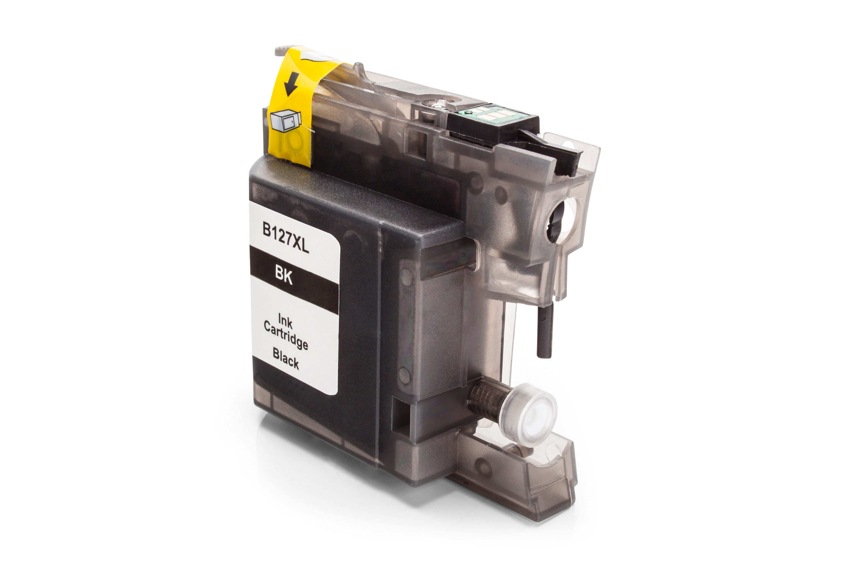Kompatibel zu Brother LC127XLBK Tintenpatrone schwarz
