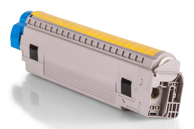 Kompatibel zu OKI 43487709 Toner gelb XXL