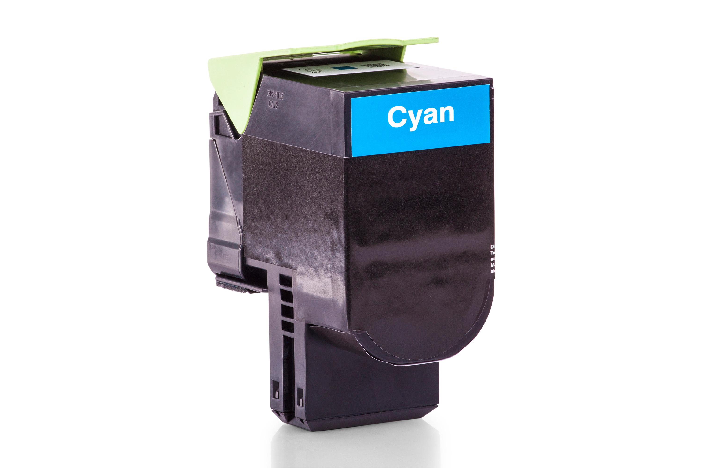 Lexmark 70C0X20 700X2 Toner cyan Kompatibel