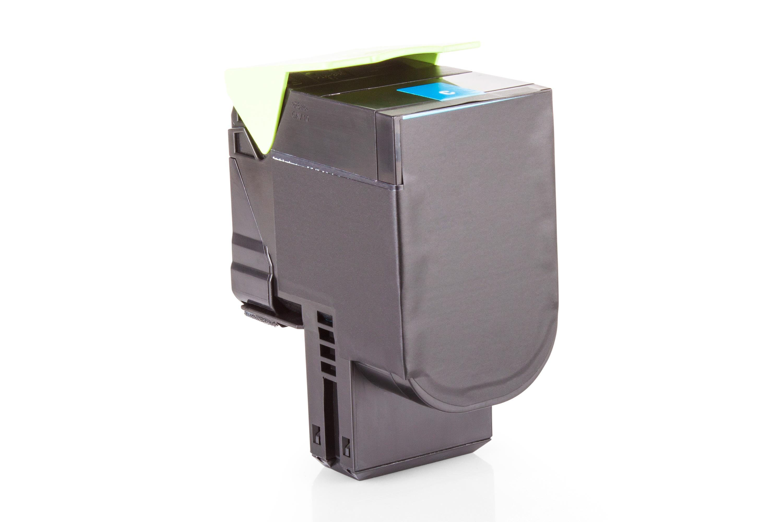 Kompatibel zu Lexmark 80C2HC0 / NO802HC Toner Cyan