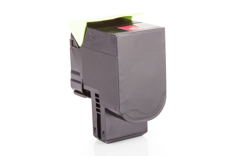 Alternativ zu Lexmark 80C2HM0 / NO802HM Toner Magenta XXL