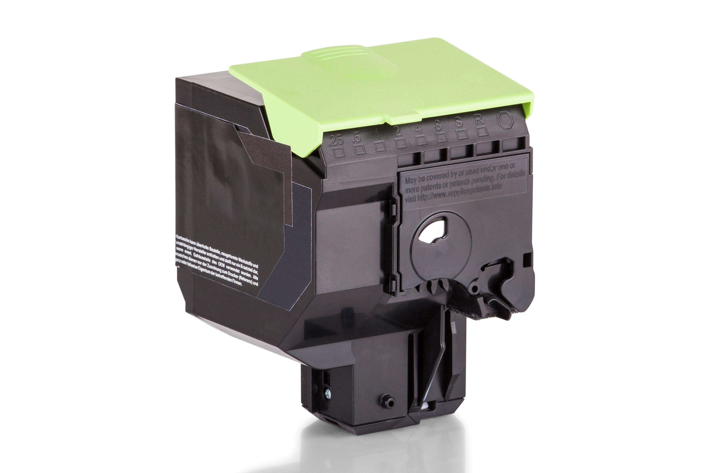 Kompatibel zu Lexmark 80C2XK0 / 802XK Tonerkartusche, schwarz