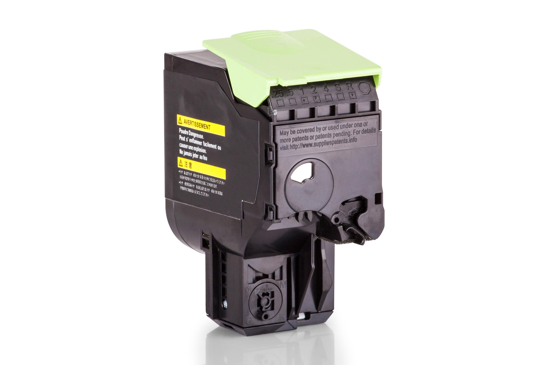 Alternativ zu Lexmark 80C2XY0 / NO802XY Toner Gelb XXL
