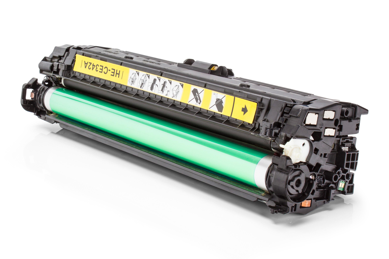 HP CE342A / 651A Tonerkartusche gelb Kompatibel