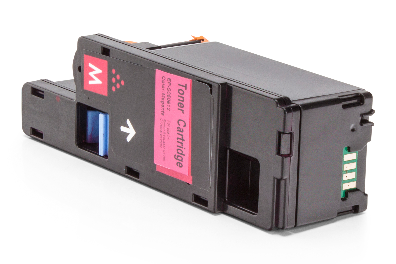 Kompatibel zu Epson C13S050612 Toner magenta