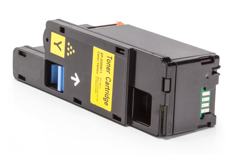 Kompatibel zu Epson C13S050611 Toner gelb
