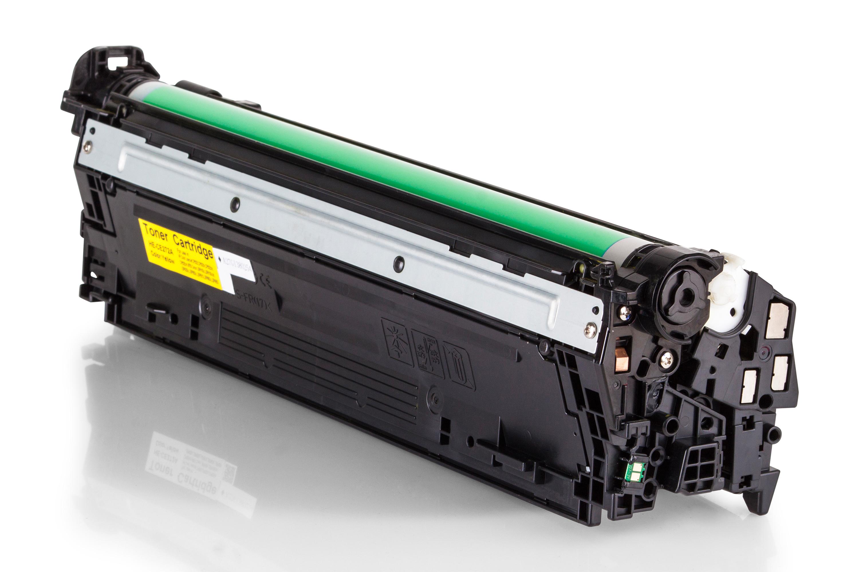 Kompatibel zu HP CE272A Toner gelb