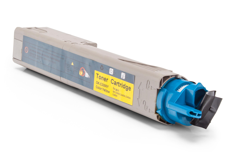 Kompatibel zu OKI 43459321 / 43459425 Toner gelb