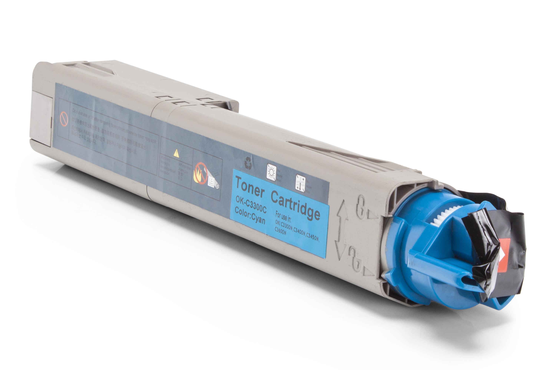 Kompatibel zu OKI 43459331 / 43459435 Toner cyan