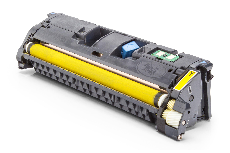 Kompatibel zu Canon 9284A003 / 701Y Toner gelb