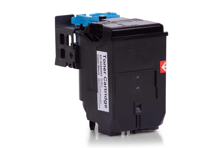 Kompatibel zu Epson C13S050593 Toner schwarz