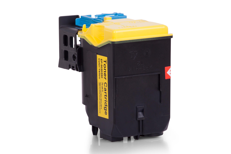 Kompatibel zu Epson C13S050590 Toner gelb
