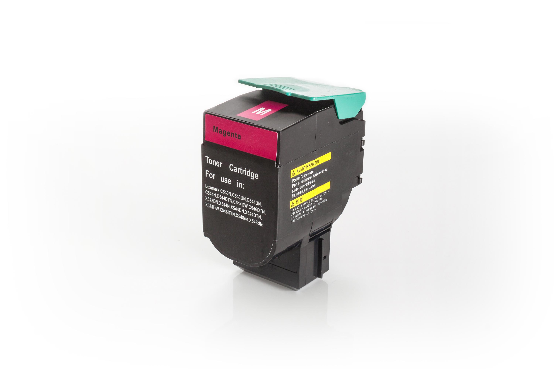 Kompatibel zu Lexmark C540H1MG Toner magenta