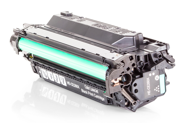 Kompatibel zu HP CE260X schwarz XXL