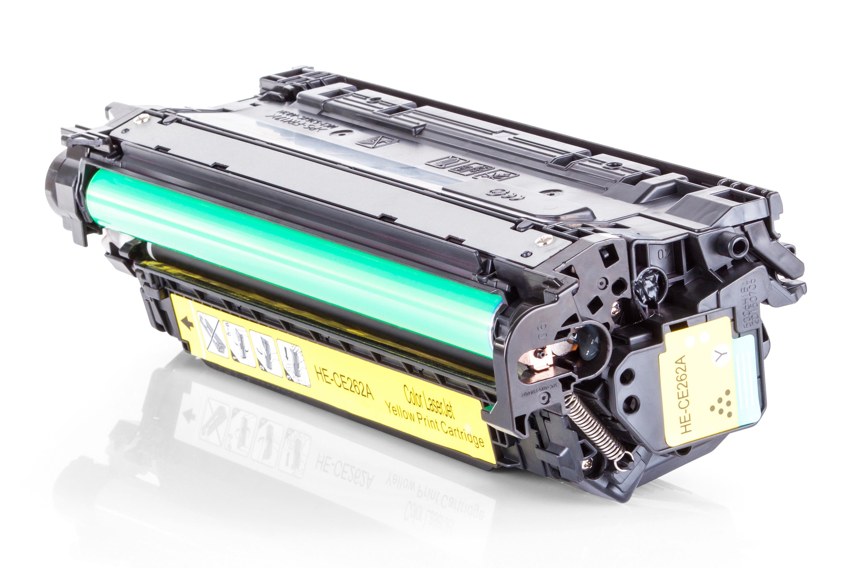 Kompatibel zu HP CE262A Toner gelb
