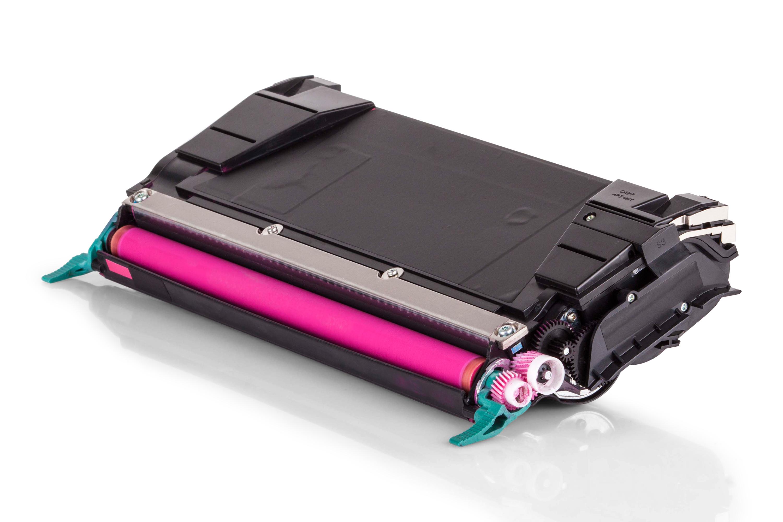 Kompatibel zu Lexmark 0C734A2MG Toner magenta