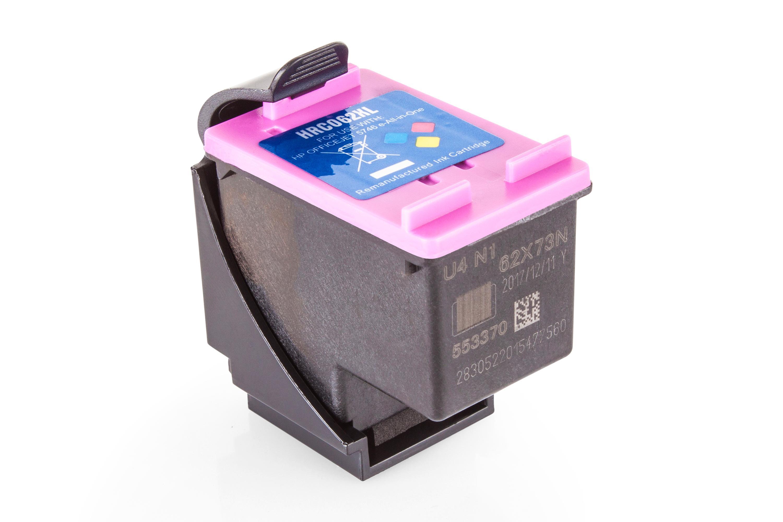 Kompatibel zu HP C2P07AE / 62XL Druckkopfpatrone, color