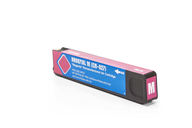 TonerPartenaire HP CN 627 AE / 971XL Cartouche d'encre magenta