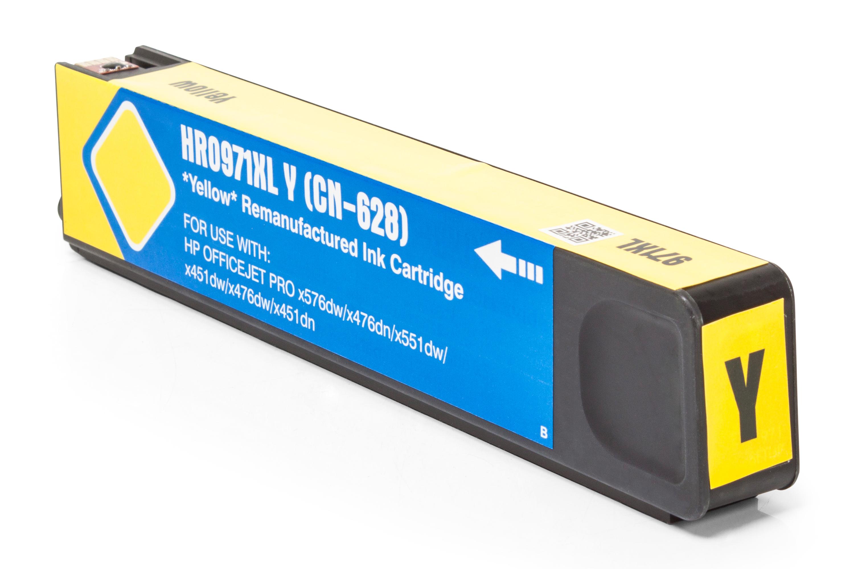 TonerPartenaire HP CN 628 AE / 971XL Cartouche d'encre jaune