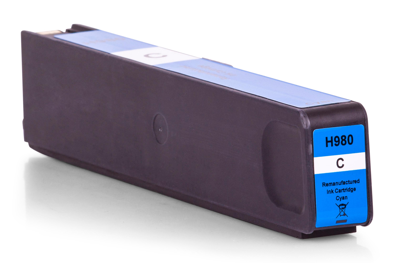 HP D8J07A / 980 Tintenpatrone cyan Kompatibel