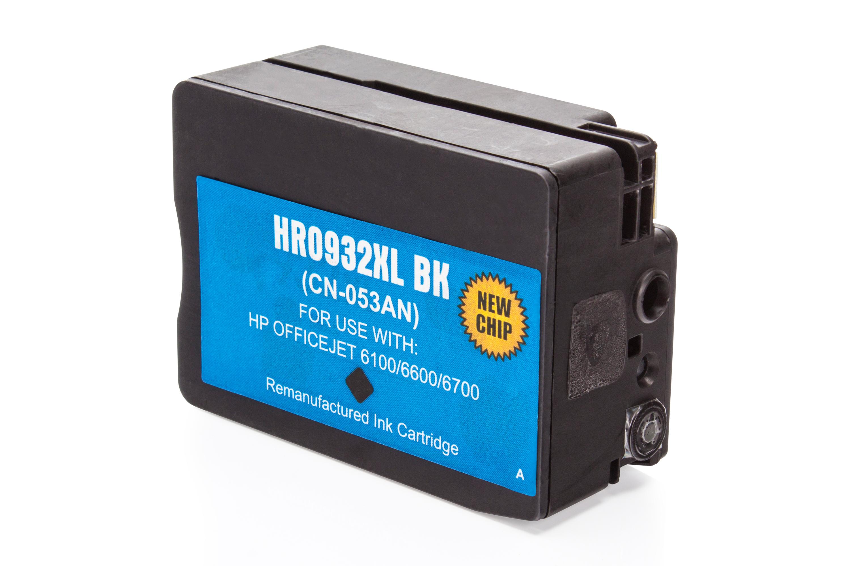 HP CN053AE / 932XL Tintenpatrone schwarz Kompatibel